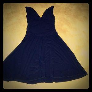 Lady's Sexy Black Dress